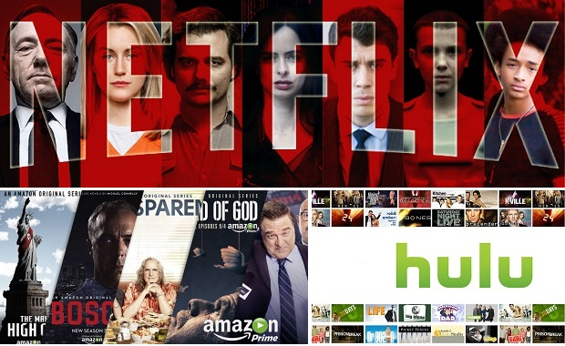 Netflix Amazon Hulu ads