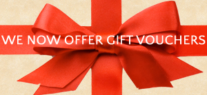 We now offer gift vouchers
