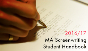 MA Screenwriting Student Handbook